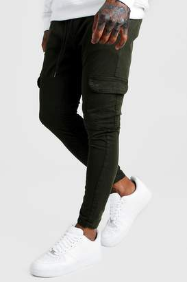 boohoo Skinny Fit Cargo Trousers