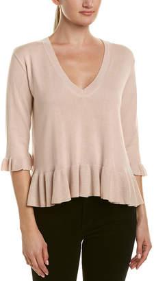 Cinq à Sept Ariana Silk & Cashmere-Blend Sweater