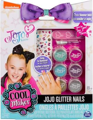 Nickelodeon Cool Maker JoJo Siwa Glitter Nails Glitter Manicure Kit