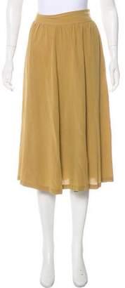 Apiece Apart Silk Midi Skirt
