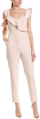 BCBGMAXAZRIA One-Shoulder Jumpsuit
