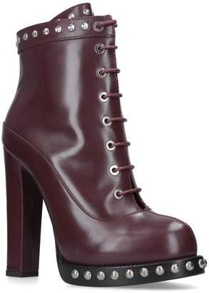 Alexander McQueen Studded Chunky Boots