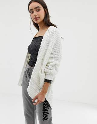 Hollister cozy cardigan in chenille