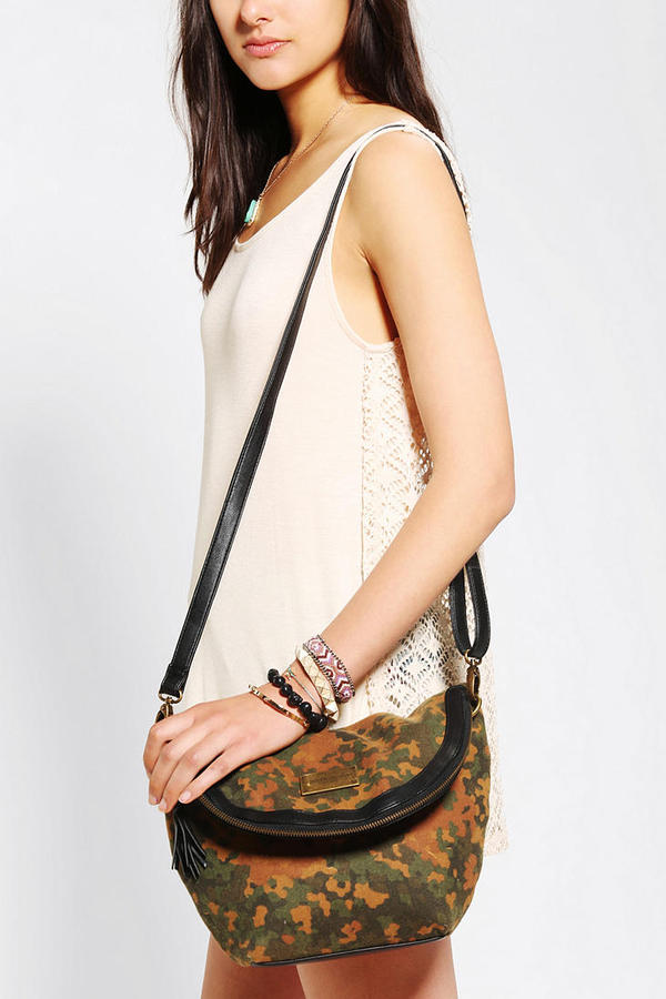 Camo OBEY Berlin Crossbody Bag
