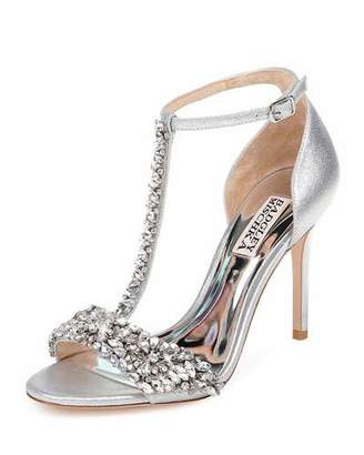 Badgley Mischka Veil II T-Strap Sandals