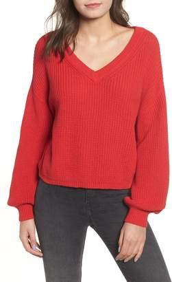 BP V Neck Cotton Sweater
