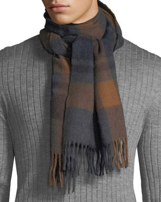 Co Begg & Men's Jura Clova Check Cashmere Scarf
