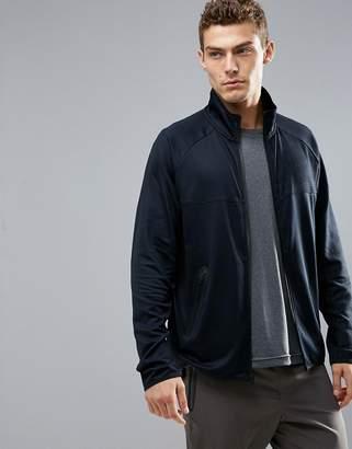 Perry Ellis 360 Runner Track Jacket in Black