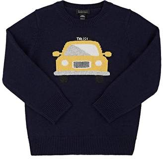 Barneys New York Kids' Taxi Intarsia Cashmere Sweater