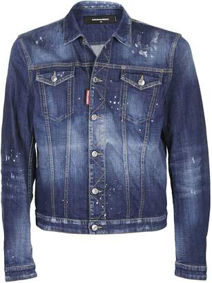 DSQUARED2 Distressed Jacket