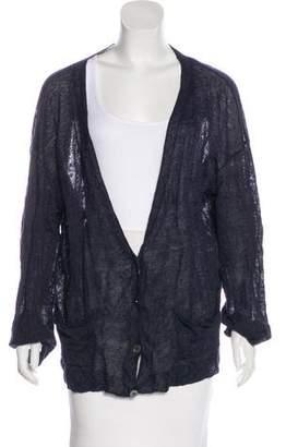 6397 Linen Lightweight Cardigan