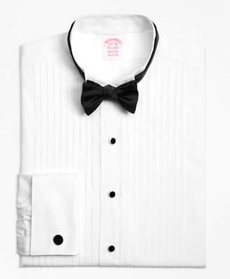 Brooks Brothers Madison Fit Ten-Pleat Wing Collar Tuxedo Shirt