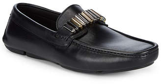 Versace Leather Hardware Driver Shoes
