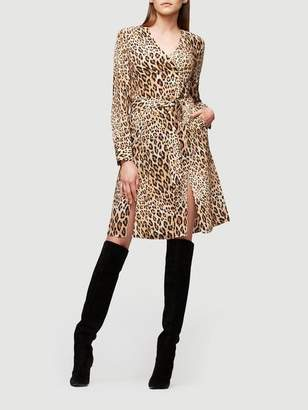 Frame Sgt. Pepper Silk Dress