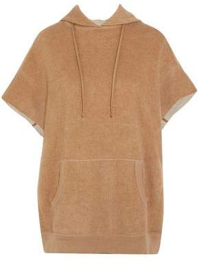 R 13 Cotton And Camel-hair Blend Hooded Top