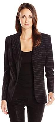 Norma Kamali Women's Single Breasted Jacket Bonded