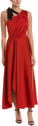 Karen Millen Silk-Trim Gown