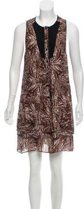 Proenza Schouler Silk Knee-Length Dress