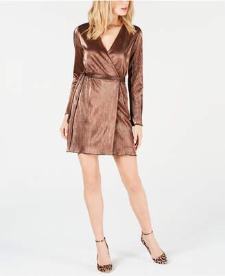 Leyden Mini Wrap Dress