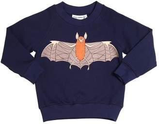 Mini Rodini Bat Print Organic Cotton Sweatshirt