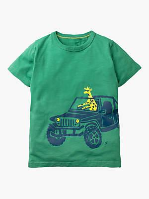 a40019c1458 Boden Mini Boys' Vehicle T-Shirt, Greenhouse Green