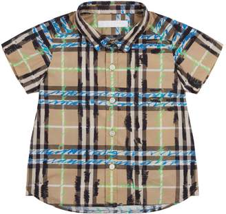 Burberry Clarkey Scribble Check Shirt