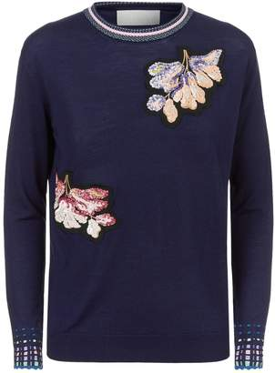 Peter Pilotto Sequin Embellished Sweater