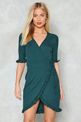 Nasty Gal Join Forces Wrap Dress