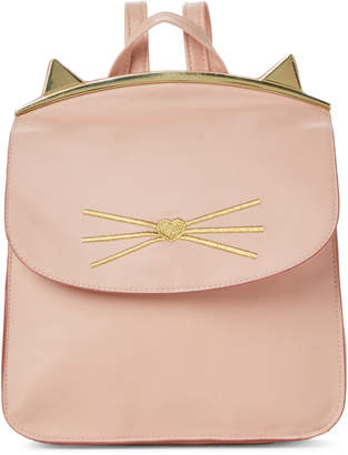 T-Shirt & Jeans T Shirt & Jeans Pink Cat Ears Backpack