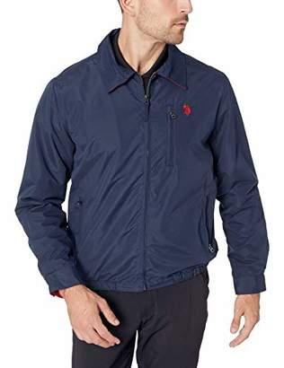 U.S. Polo Assn. Men's Polar Fleece Lined Golf Jacket