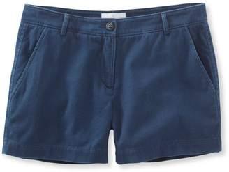 """L.L. Bean L.L.Bean Signature Washed Twill Shorts, 4"""""""