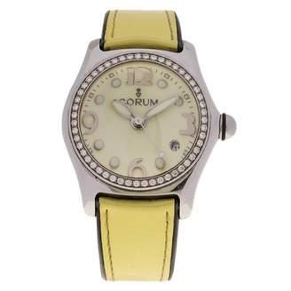 Corum Bubble Yellow Steel Watches