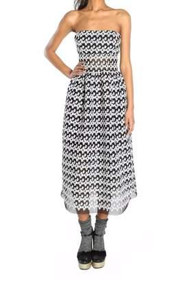 ABS by Allen Schwartz Floral Flare Dress