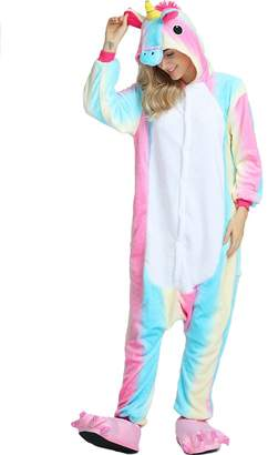 "HotgirlDress Unisex Child Sleepsuit Costume Cosplay Homewear Lounge Wear Kigurumi Onesie Pajamas (8Yrs(fits for height51.2-55.1""), )"