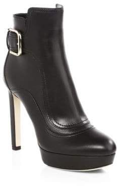 Jimmy Choo Britney Leather Ankle Boots