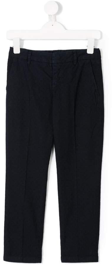 Dondup Kids micro-check trousers