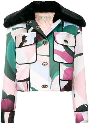 Emilio Pucci structured jacket