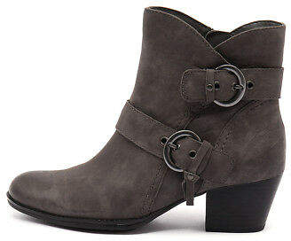Earth New Olive Ea Dark Grey Womens Shoes Casual Boots Ankle