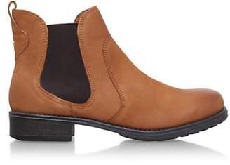 Carvela Solid Slip On Ankle Boots, Tan