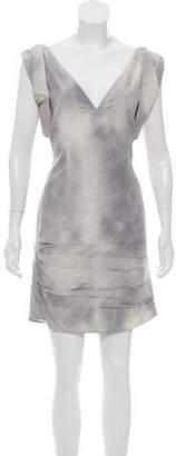 CNC Costume National Printed Sleeveless Dress