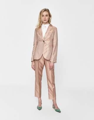 Farrow Jocelina Jacquard Suit Pant