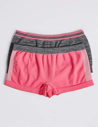 Marks and Spencer 2 Pack Sporty Shorts (6-16 Years)