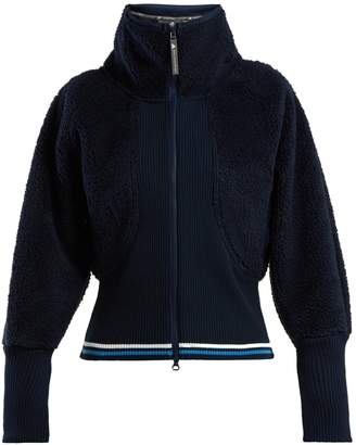 adidas by Stella McCartney Train high-neck fleece jacket