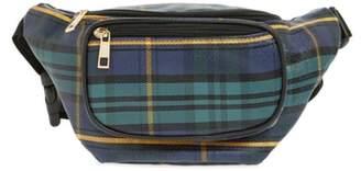 JANE AND BERRY Jane & Berry Plaid Belt Bag