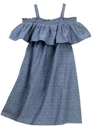 Harper Canyon Woven Ruffle Dress (Little Girls)