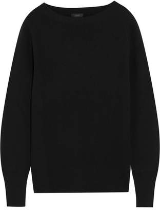 J.Crew Orchard Merino Wool And Cotton-blend Sweater - Black