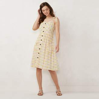Lauren Conrad Women's Button Front Dress