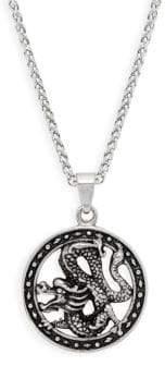 Jean Claude Dragon Pendant Necklace