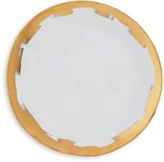 Vietri Gold Brushstroke Dinner Plate - 100% Exclusive
