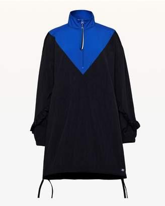 Juicy Couture JXJC Colorblock Nylon Ruffle Dress